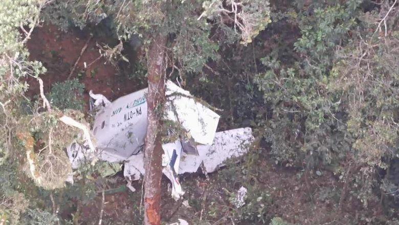 Pesawat Rimbun Air yang sempat dilaporkan hilang, ditemukan jatuh di Sugapa, Papua