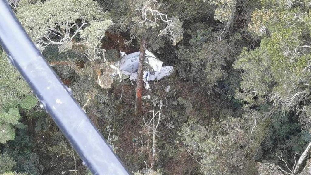 3 Kru Pesawat Rimbun Air yang Jatuh di Sugapa Papua Ditemukan Tewas
