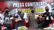 Bandar Narkoba Jaringan Malaysia Ditangkap di Jaktim, 2 Kg Sabu Disita