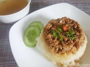Resep Nasi Tim Ayam Jamur yang Lembut dan Berkuah Gurih