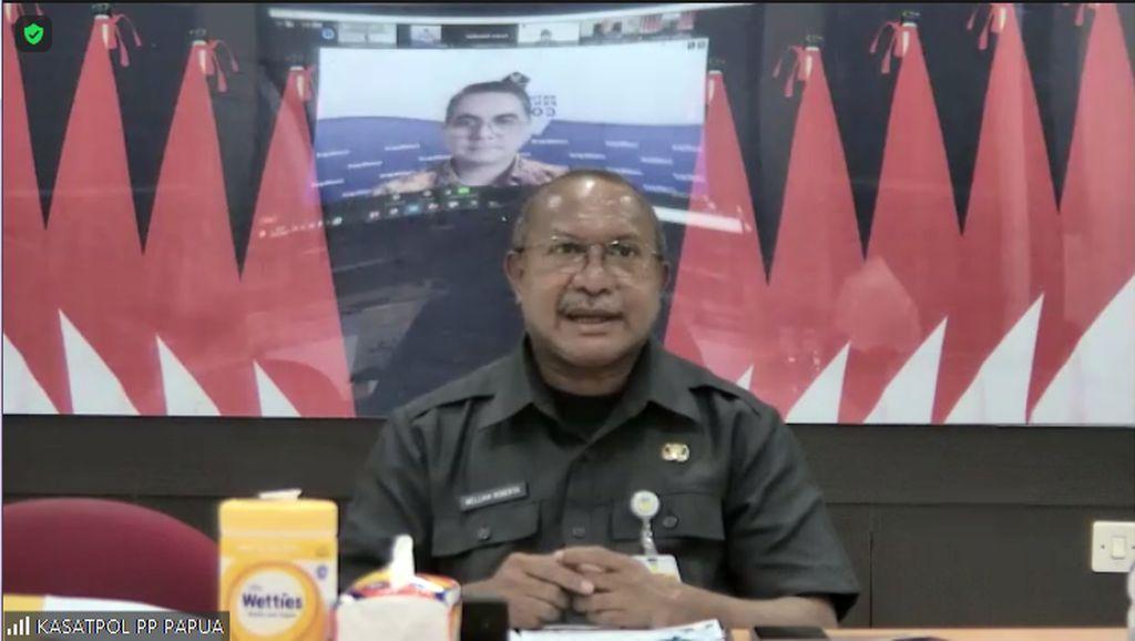 Jelang PON, Ketua Satgas Papua Dorong Percepatan Vaksinasi Capai 70%