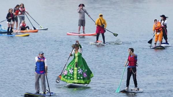 Festival ini tidak hanya sebatas kegiatan olahraga namun juga rekreasi.