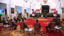Jokowi Temui Pengusaha Warteg di Istana, Apa yang Dibahas?