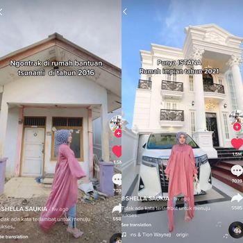 Viral dulu wanita ini tinggal di rumah bantuan tsunami Banda Aceh