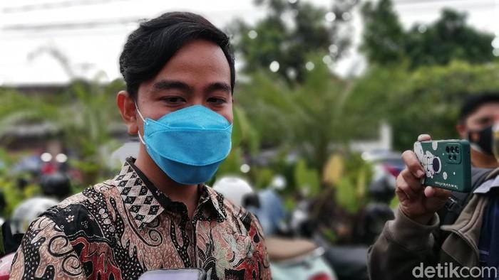 Wali Kota Solo, Gibran Rakabuming Raka, Rabu (15/9/2021).