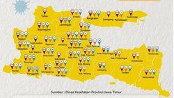 Selain Blitar, Seluruh Daerah di Jatim Zona Kuning