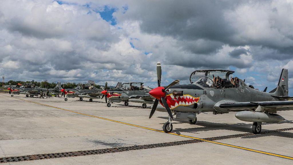 TNI AU Kirim 4 Pesawat Tempur ke Bali untuk Pengamanan Kepulauan