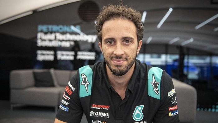 Andrea Dovizioso resmi bergabung ke tim Petronas Yamaha dan comeback di MotoGP 2021, Kamis 16 September 2021.