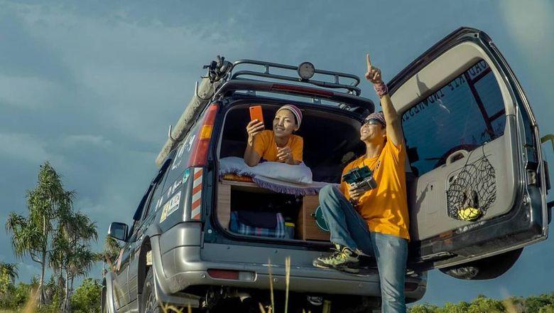 Bang Den dan Kak Beda dari Roadtrip Indonesia