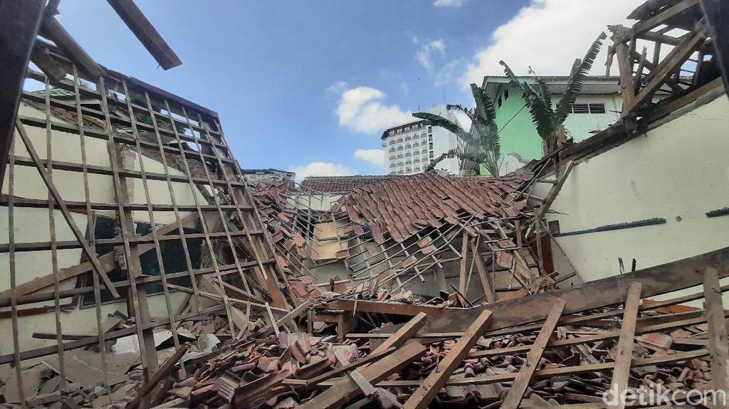 Ruang SD Roboh, Disdik Bogor Minta Sekolah Cek Bangunan Sebelum PTM