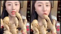 Gokil! TikToker Ini Ngemil Jahe Mentah, Netizen: Kentutnya Jadi Aromatherapy