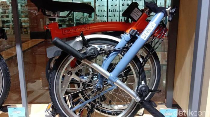 Harga sepeda Brompton turun hingga Rp 6 juta.