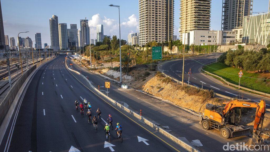Hari Raya Yom Kippur di Israel, Sepeda Road Bike Bebas Masuk Jalan Tol