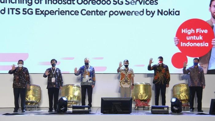 Indosat Ooredoo membawa internet 5G ke Surabaya, Jawa Timur.