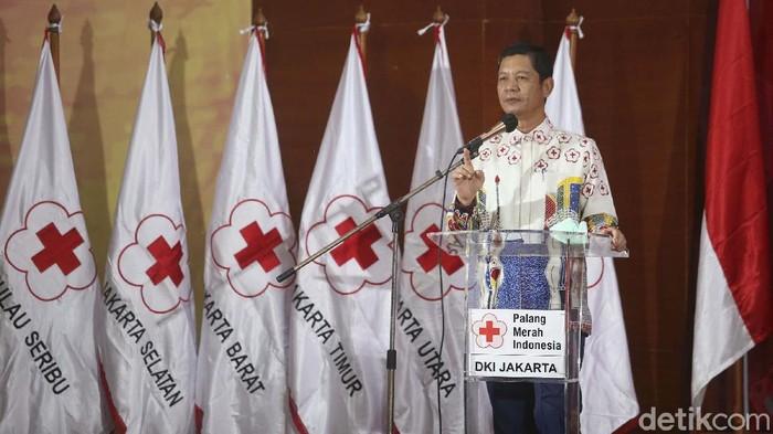 Jelang HUT ke-76, PMI mengundang para donatur yang telah memberikan donatur kepada PMI. Bantuan tersebut untuk membantu menanggulangi pandemi COVID-19.