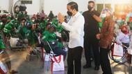 Jokowi Apresiasi Grab Hadirkan Pusat Vaksinasi Ramah Disabilitas