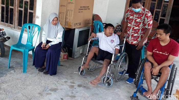 Keluarga Pamuji Slamet di Boyolali, Kamis (16/9/2021).