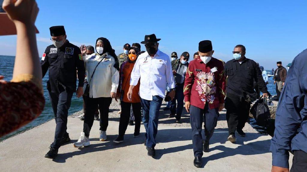 Ketua & Anggota DPD Kunker ke Pulau Untung Kepulauan Seribu