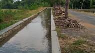 Sampel Air Saluran Irigasi di Klaten yang Jadi Merah Darah Diuji Lab
