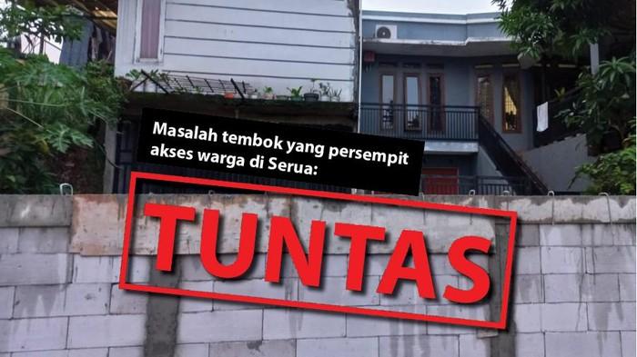 Masalah tembok yang persempit akses warga di Serua: Tuntas