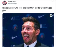 Meme Messi Club Brugge