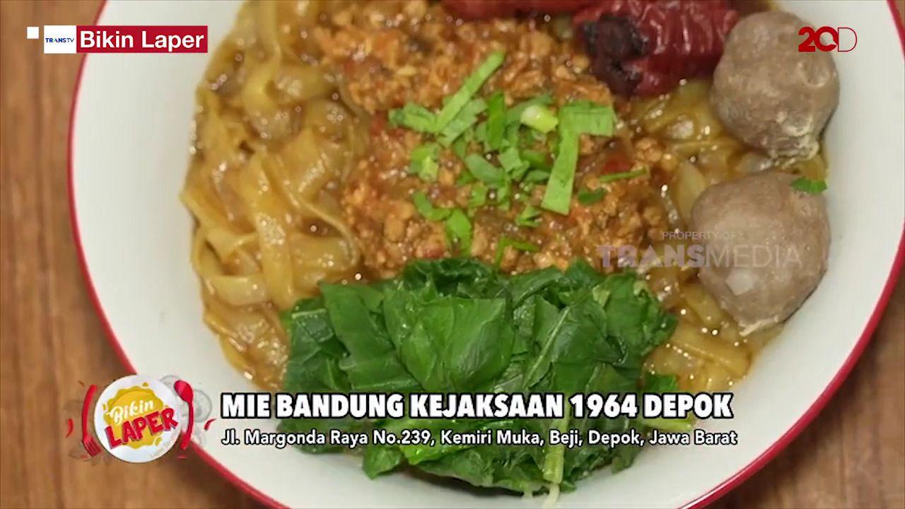 Bikin Laper! Mie Kejaksaan Bandung Legendaris Kini Buka di Depok