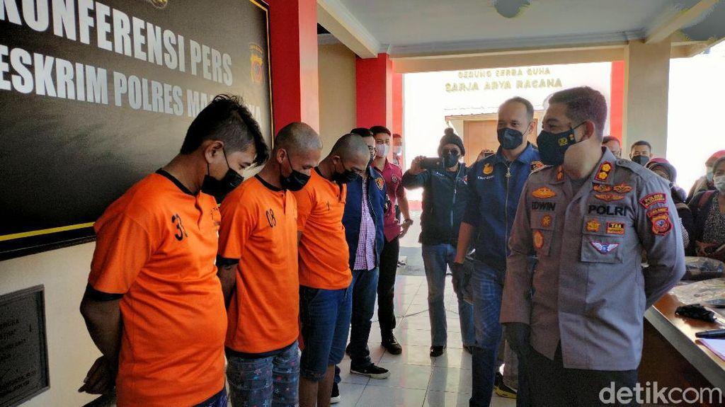 Rampas Duit, Kawanan Polisi Lakban Mata-Ikat Tangan Pegawai Toko