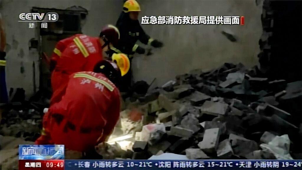 Rekaman CCTV Saat China Diguncang Gempa M 6
