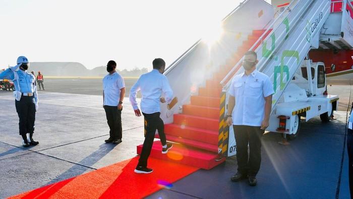 Presiden Jokowi kunjungan ke Aceh-Sumut