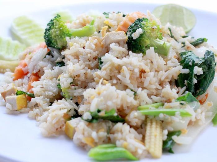 Resep Nasi Goreng Sayuran dan Tahu