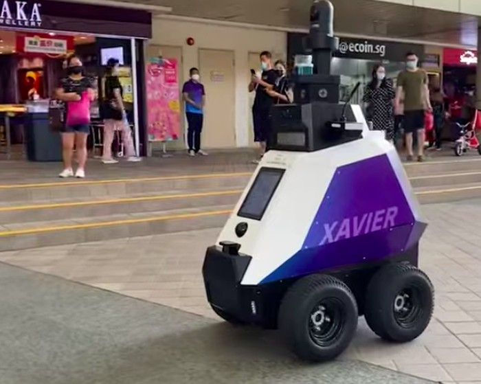 Robot di Singapura