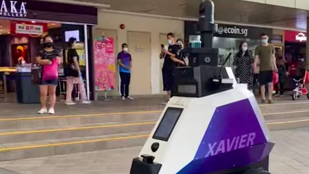 Parkir Sembarangan di Singapura, Siap-siap Diseprot Robot