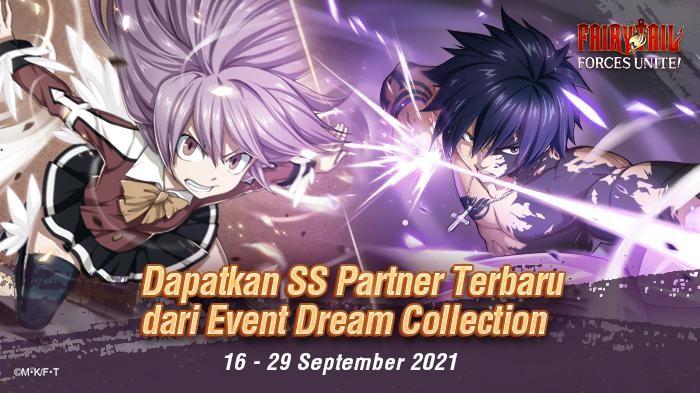 2 SS Partner Super Kuat Kembali Hadir di Fairy Tail: Forces Unite!