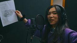 Proses Rekaman Vokal Isyana Sarasvati Isi Lagu Baru untuk Naif