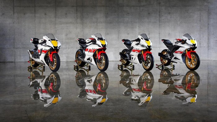 Yamaha R Series Livery 60th Anniversary World GP