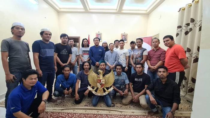 18 ABK WNI dibebaskan pengadilan Yaman pulang ke RI