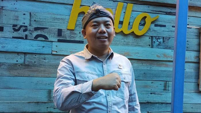 Anggota DPRD Jabar Rahmat Hidayat Djati nyatakan maju jadi calon Ketum Asprov PSSI
