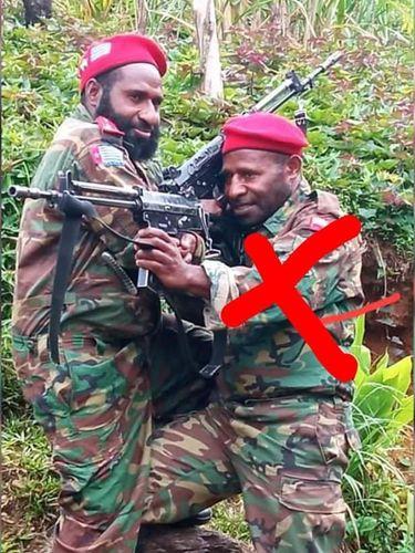 Aparat gabungan TNI-Polri terlibat baku tembak dengan KKB di Kabupaten Pegunungan Bintang, Papua. Sebanyak 2 anggota KKB tersebut tewas ditembak aparat. (dok Polda Papua)