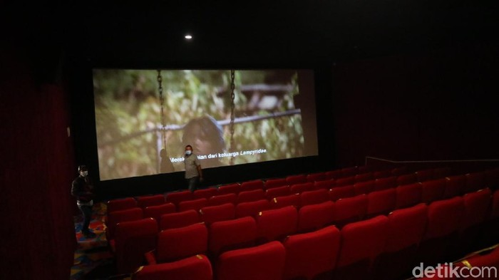 Bioskop di Kabupaten Kudus mulai dibuka kembali, Jumat (17/9/2021).