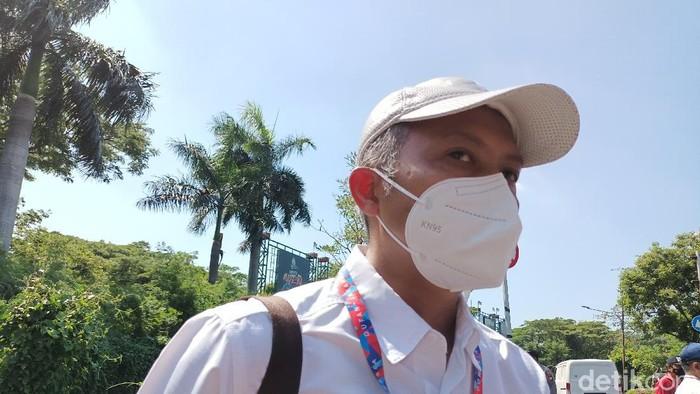 Direktur Utama PT Taman Impian Jaya Ancol Budi Aryanto (Karin Nur Secha/detikcom)