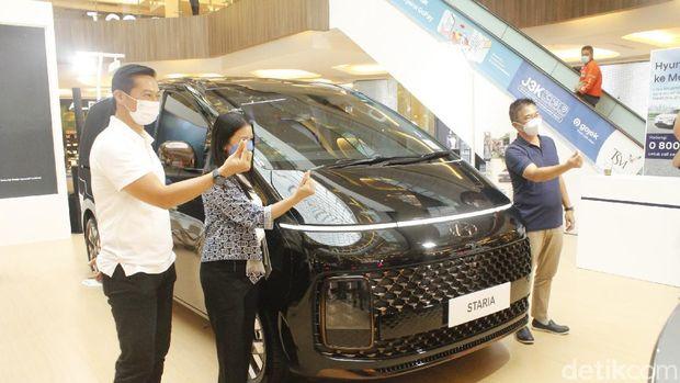 Hyundai Staria dipamerkan dan mulai dijual di Jawa Barat
