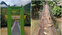 Beda Nasib Jembatan Gantung: Di Mamasa Beres, di Jaksel Menanti Solusi