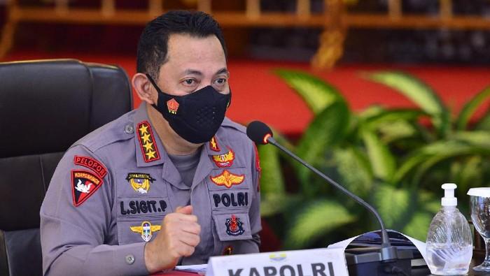 Kapolri Jenderal Listyo Sigit Prabowo memimpin rapat Forkopimda di Jambi