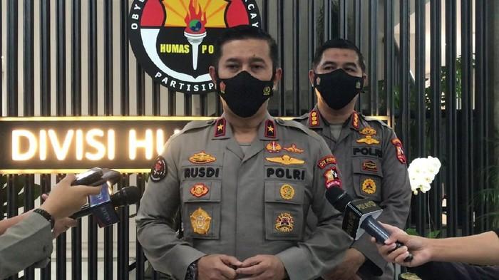 Karo Penmas Divisi Humas Polri Brigjen Rusdi Hartono (Adhyasta-detikcom)