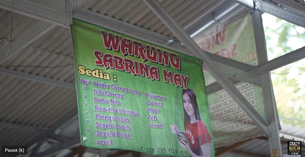Kenalan Yuk! Ini Sabrina, Selebgram Manis Penjual Cendol di Kediri