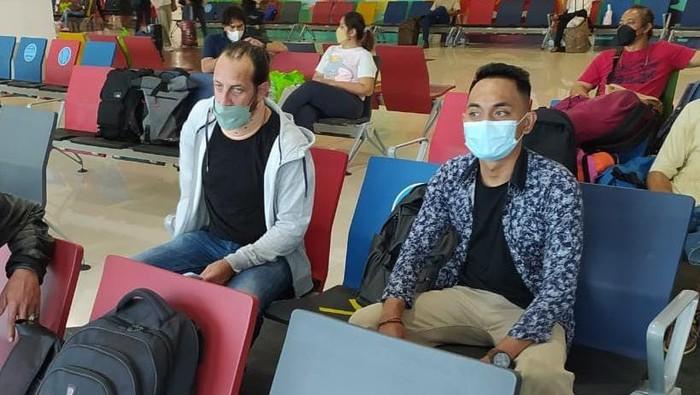 Kepulangan pengungsi WN Suriah di Bali