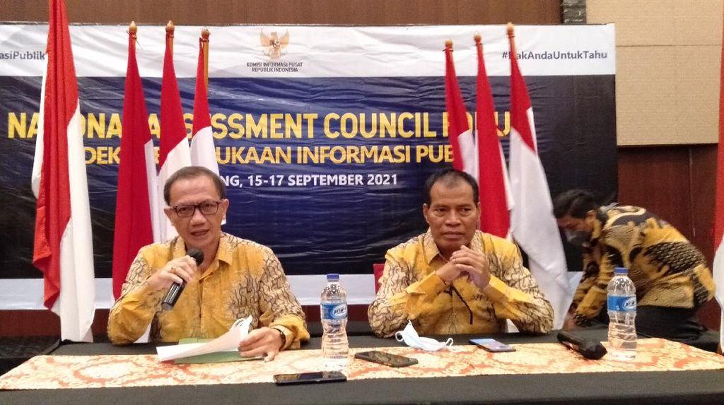Indeks Keterbukaan Informasi Publik: Bali Ke-1, Jakarta Ke-19