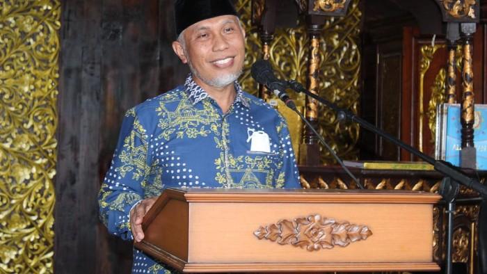 Gubernur Sumatera Barat (Sumbar) Mahyeldi Ansharullah