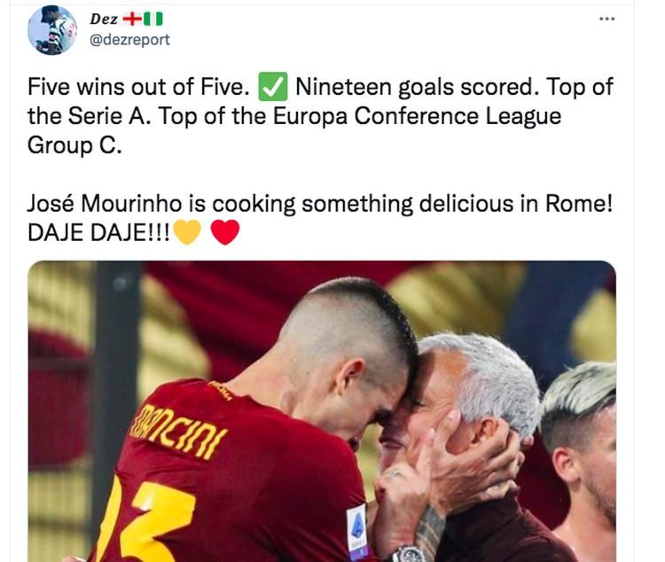 Meme Jose Mourinho