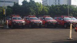 Mobil Masker BNPBSambangiPangandaran, Sasar Kampung Nelayan-Pasar Ikan